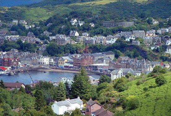 Fierce Romance A Visit To Oban Scotland