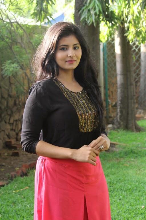 Actress Reshmi Menon At Burma Movie Press Meet Stills
