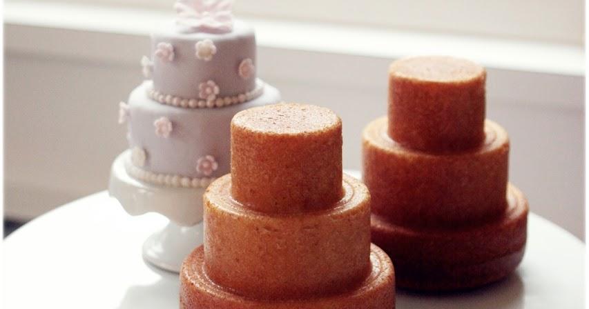Sugar Mini Three Tiered Cakes