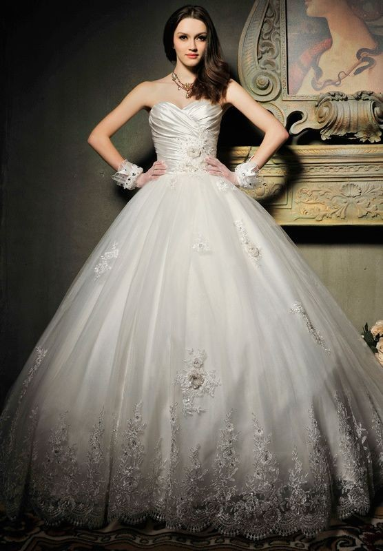 Elegant Ball Gown Wedding Dresses : Whiteazalea elegant dresses ball gown wedding dress for