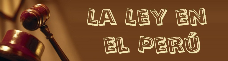 LA LEY EN EL PER