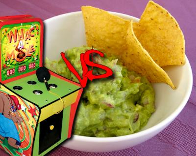 Whac-a-mole vs Guacamole