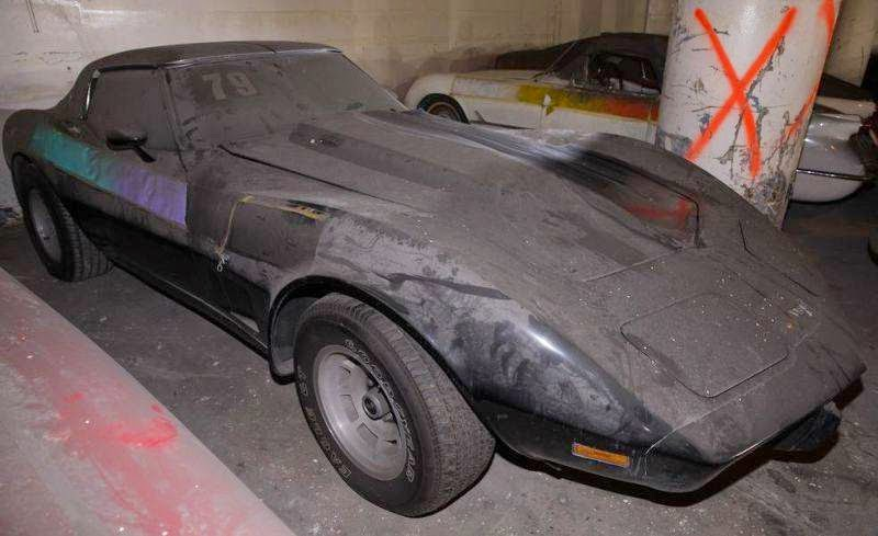 Forgotten Corvette collection emerges from the dust after 25 years