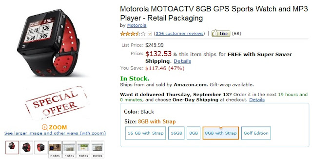 Motoactv Coupon