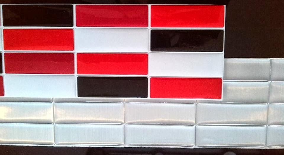 Decoracion mueble sofa cenefas cocina adhesivas - Cenefas bano adhesivas ...