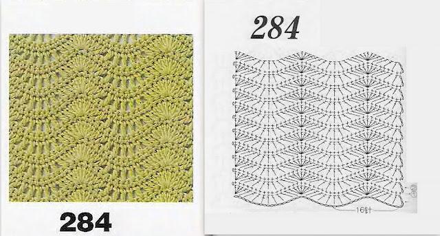 Вязание волны и зигзаги 111