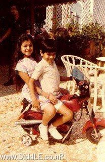 Amisha Patel Childhood Pictures
