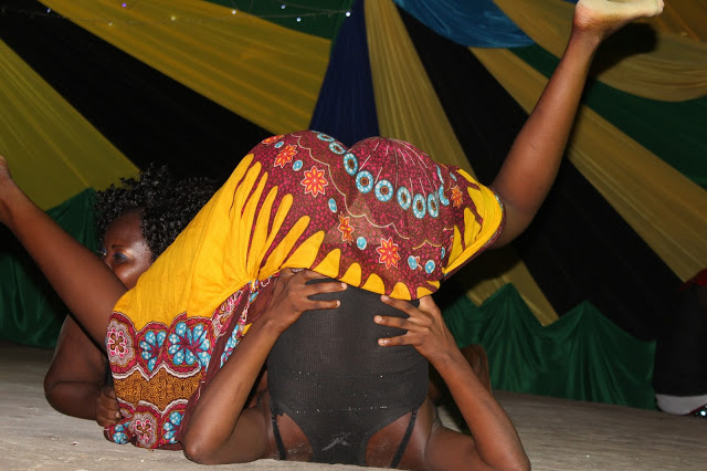 These undated photos show three Tanzania women performing a dance, and my God, they can dance.