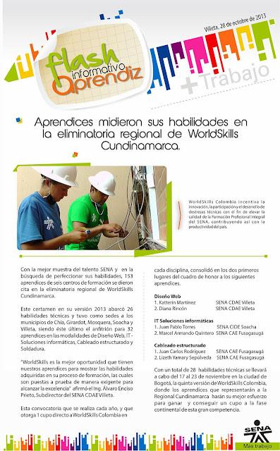 WorldSkills SENA Cundinamarca 2013