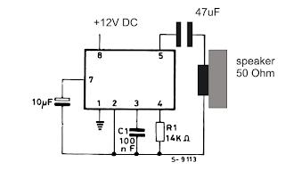 Dual Tone Ringtone Generator Circuit