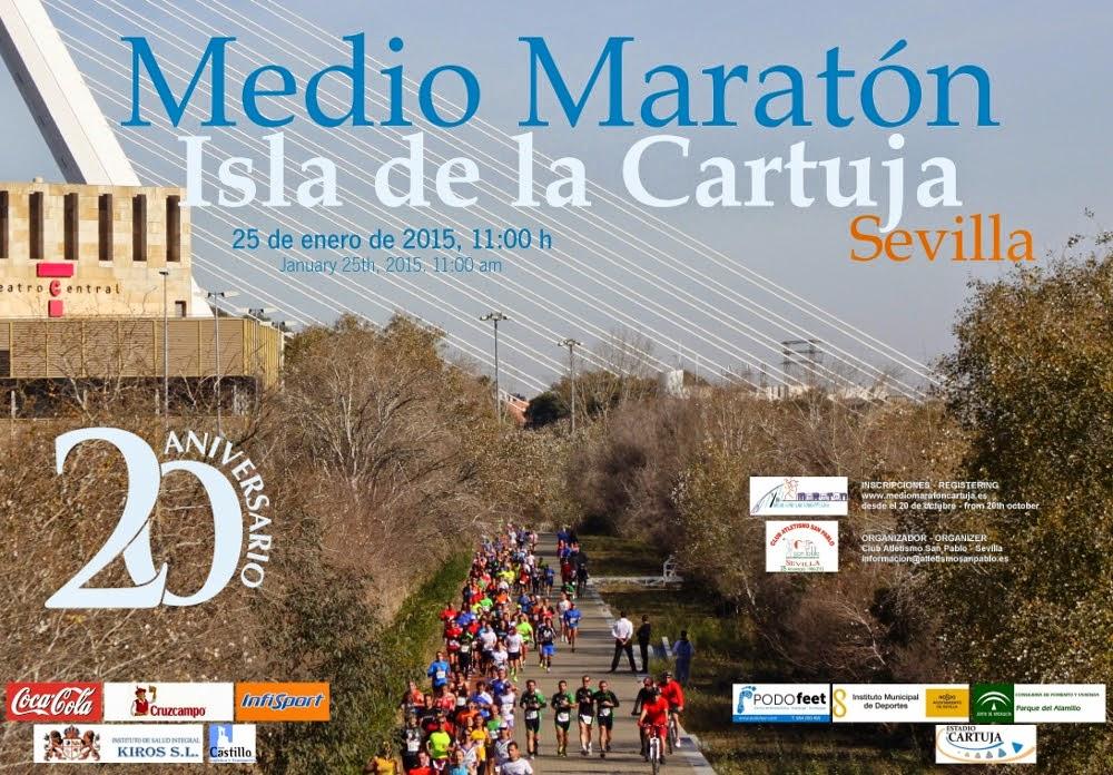 20º Medio Maratón Isla de la Cartuja