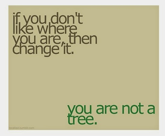 if you don't like, you are not a tree