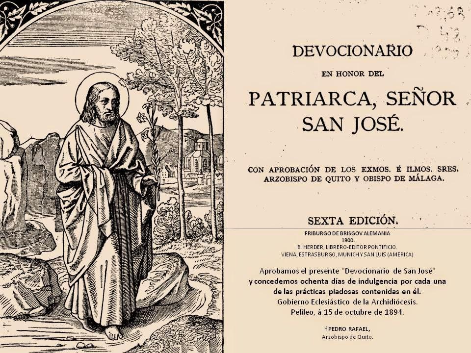 Devocionario a San José