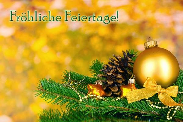 Weihnachtsbilder goldfarben