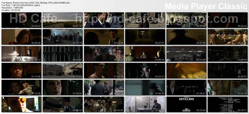 Public Enemies 2009 video thumbnails
