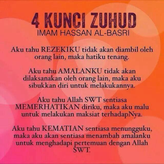 4 Kunci Zuhud!