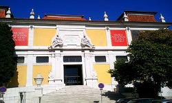 Fachada Museo Nacional de Arte Antiguo en Lisboa