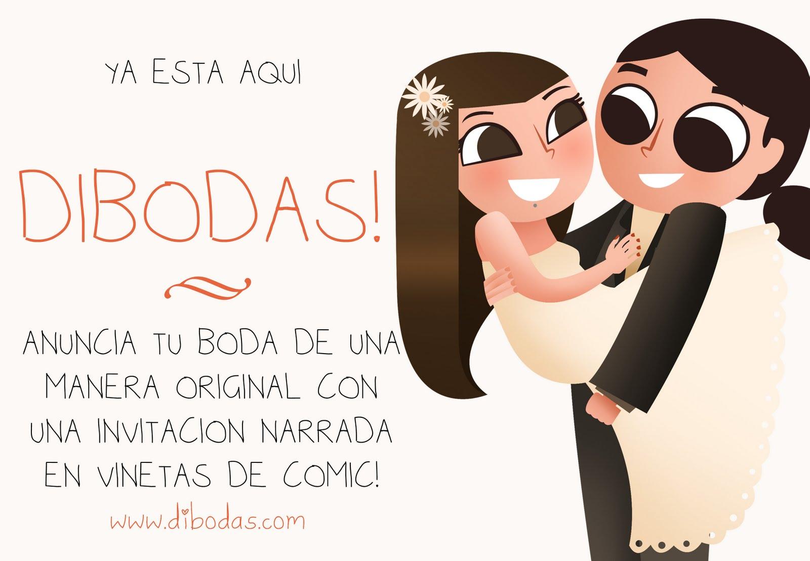 Lydia Sánchez || Illustration: Dibodas - Invitaciones de boda originales