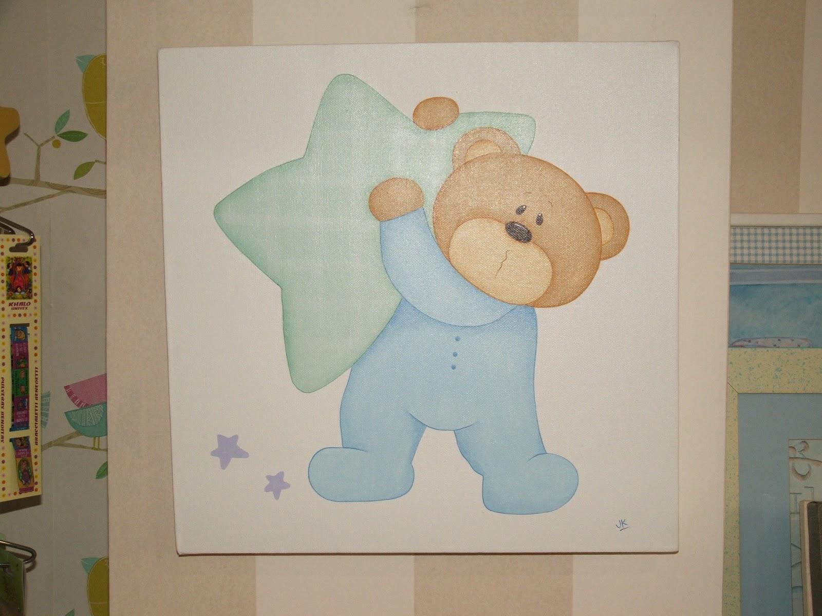 Luna lunera cuadros de osos muy tiernos - Decorar dibujos infantiles ...