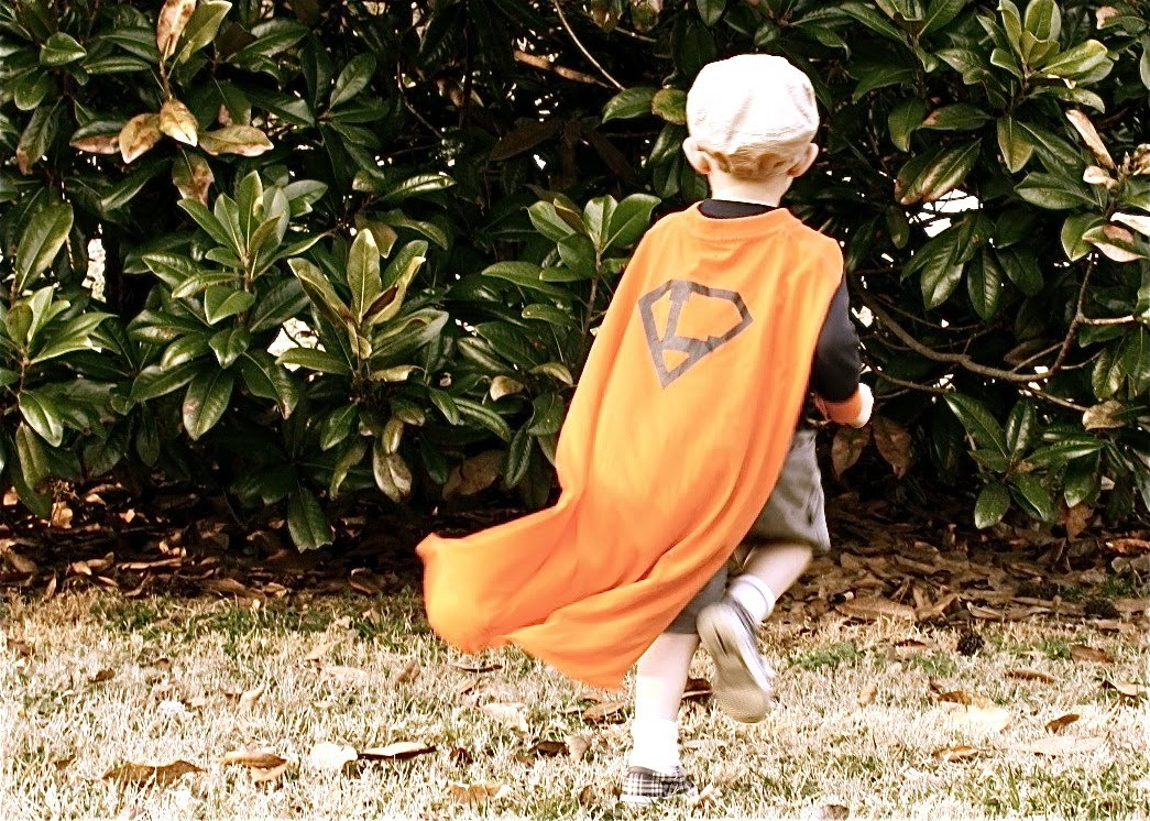 Superhero Cape From A Mans T Shirt With GUEST SIDAC MADE EVERYDAY
