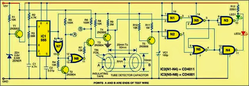Circuit for movie maker