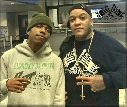 (Jet Life Records) CEO (Currency) & (Boss Spook) in airport in (New Orleans,La)