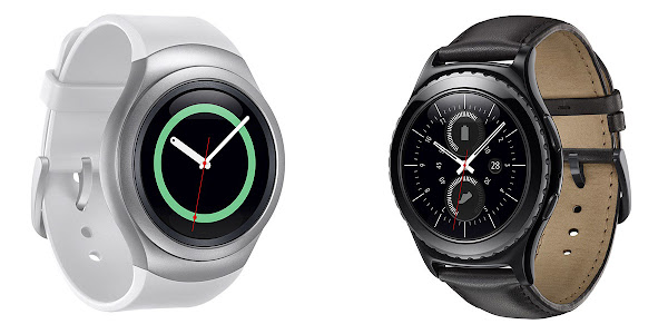 Samsung announces Gear S2 and Gear S2 Classic smartwatches