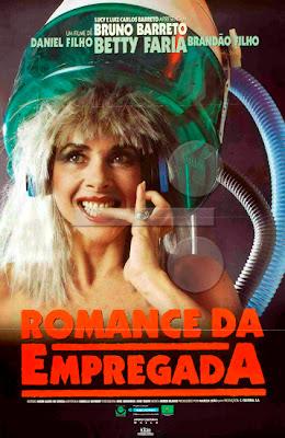 """Poster do filme """"Romance da Empregada"""""""