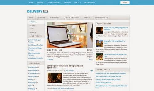 Blogger Templates Grátis Para Seu Blog blogspot