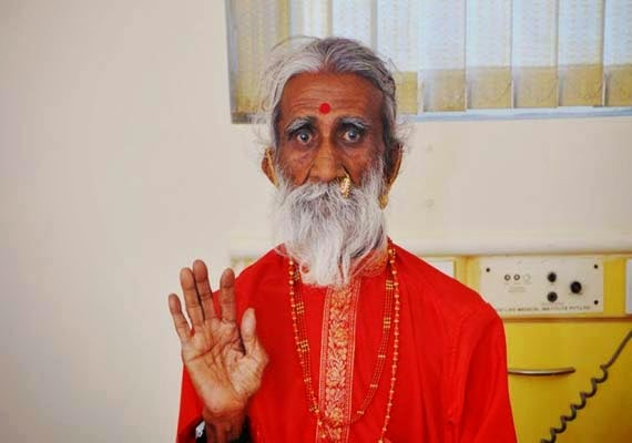 Prahlad Jani claims he's had no need for food or water, for 65 Years. Prahlad-Jani