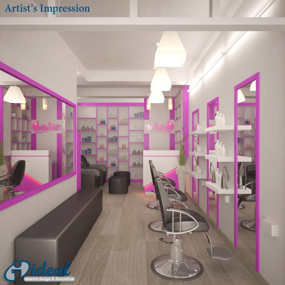 Beauty Parlour Interior Design Images