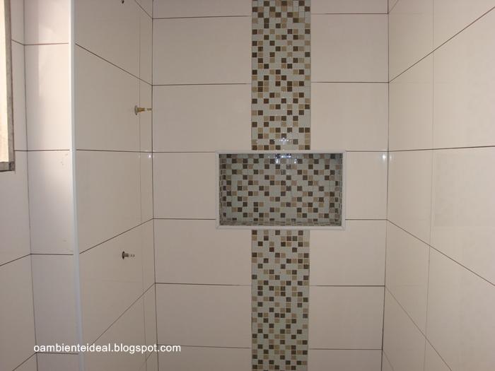 O AMBIENTE IDEAL Fevereiro 2012 -> Nicho Banheiro Parede Estrutural