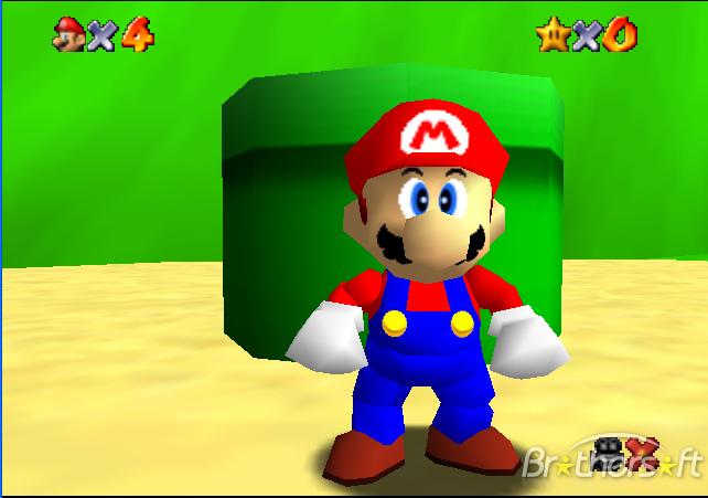 Mario Brothers Nintendo 64 Super Mario Nintendo 64