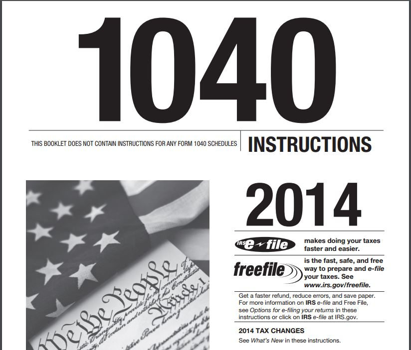 Form 1040 Instruction Peopledavidjoel