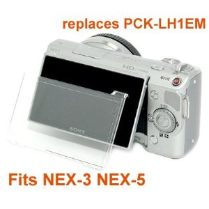 RainbowImaging Hard LCD Protector Cover for Sony NEX-3 NEX-5 replaces PCK-LH1EM-RainbowImaging