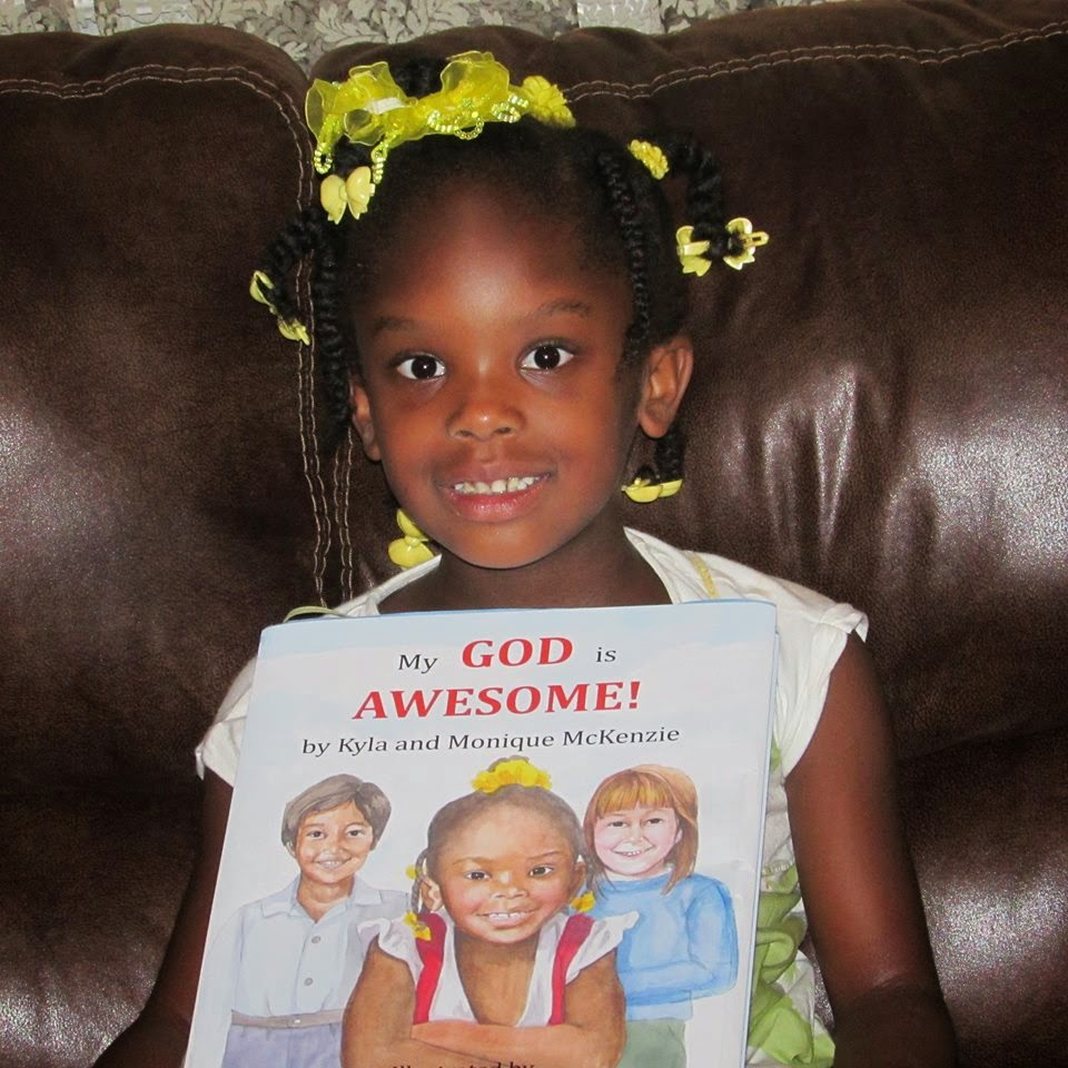 Kyla McKenzie, My God is Awesome, Children's Picture Book