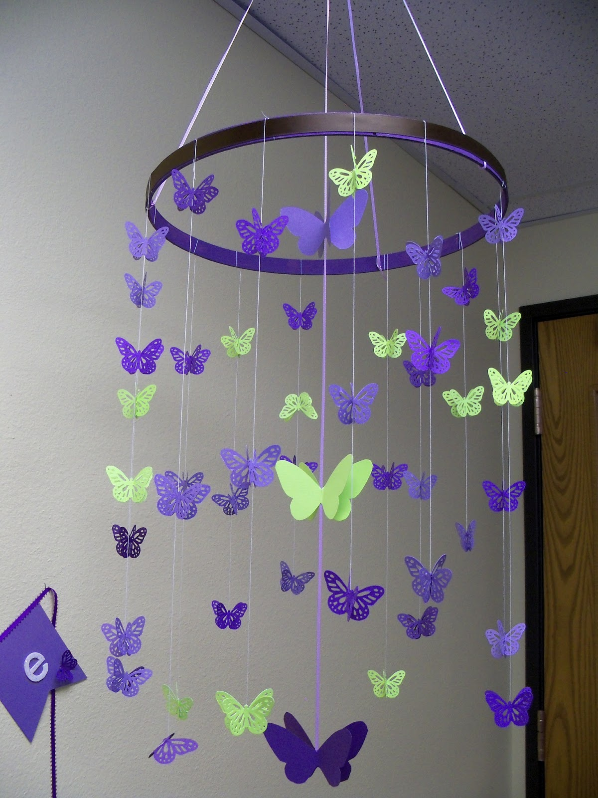 Clare 39 s contemplations butterfly baby shower for Baby shower butterfly decoration ideas