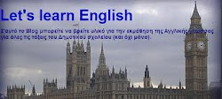 LET΄S LEARN ENGLISH