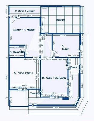Denah Rumah Sederhana on Denah Rumah Minimalis   Rumah Minimalis Idaman Modern 2013   Desain