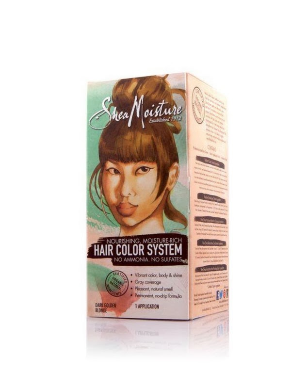 Product Review: Shea Moisture Hair Color System - Dark Golden Blonde