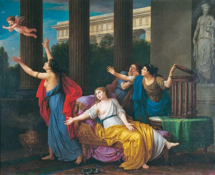 L'Amour fuyant l'esclavage, 1789