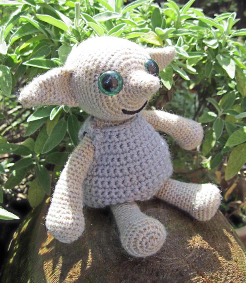 LucyRavenscar - Crochet Creatures: Dobby the House Elf