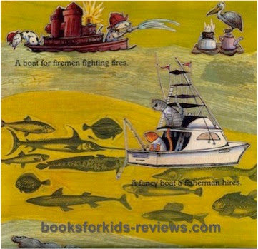 GoodBooksforKids excerpt #1 from BOATS!  Speeding!  Sailing!  Cruising!  by Patricia Hubbell