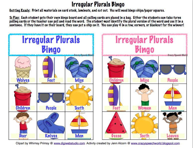 ... Irregular Plural Nouns further Singular And Plural Nouns Worksheets