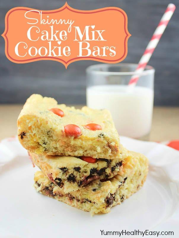Yellow Cake Mix Cookie Heat