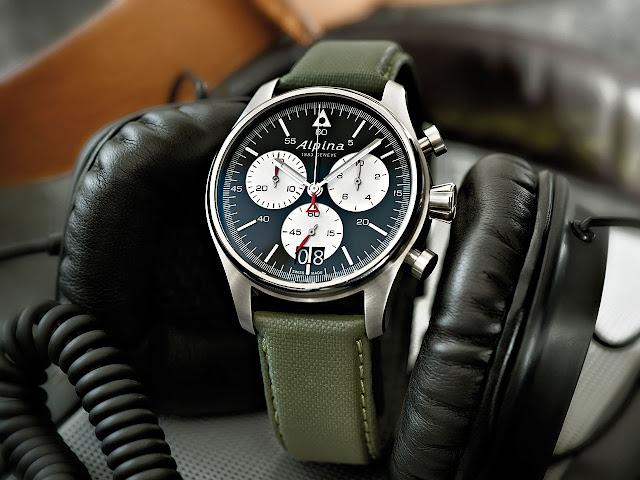 Alpina Startimer Pilot Chronograph Grande Date Watch