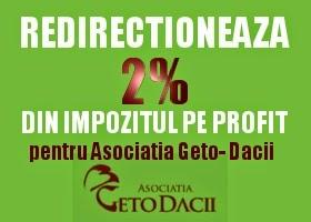 2% pentru Asociatia Geto Dacii