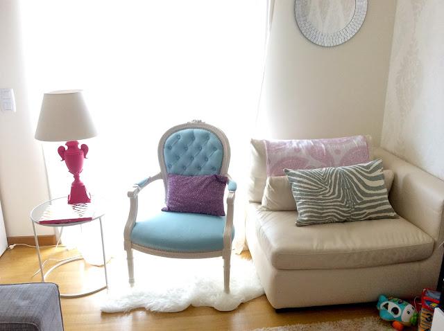 Candeeiro rosa Zara Home
