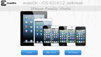 EvasiOn 1.5.2 - iPhone family world