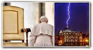 Dấu Lạ Từ Trời : ĐGH Benedicto 16 đã từ chức - Nhân loại sẽ đi về đâu?
